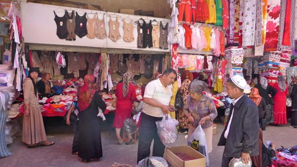 Shopping in Kashgar